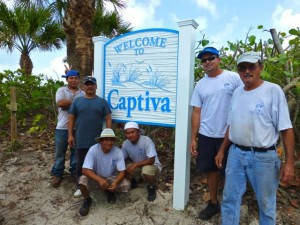 new captiva welcome sign