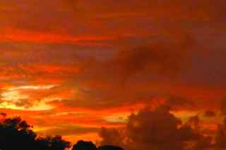 Sanibel Sunset Paint Color