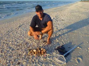Donnie Sanibel seashells isaac