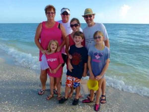 family on sanibel