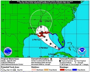 Tropical Storm isaac 7