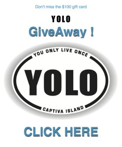 YOLO GIVEAWAY logo