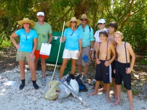 coastal clean up crew