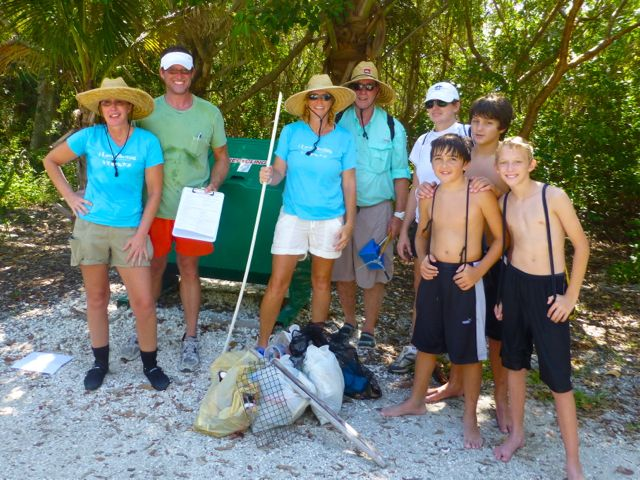 2012 Sanibel Coastal Cleanup