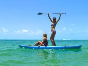 kelsie paddle board yolo