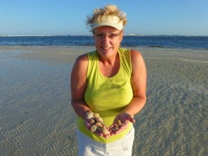 Becky seashells sanibel