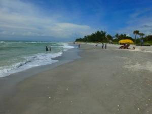 Blind Pass beach shellless