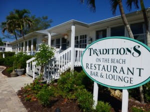 Sanibel Restaurant on the beach Traditions