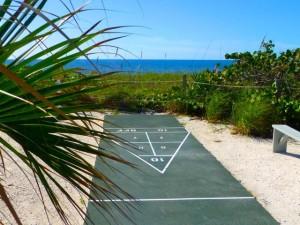 island Inn Sanibel shuffle board