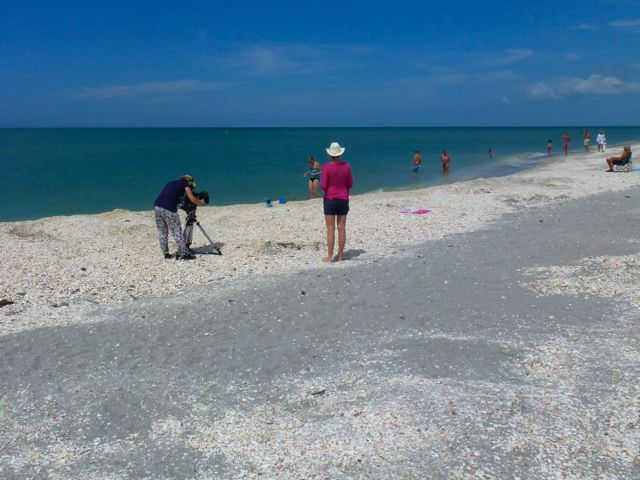 Swedish Television Features Sanibel Shelling