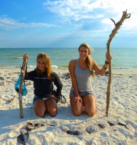 Ashlyn Ashley Sanibel drift wood