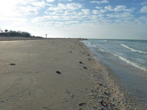 Captiva beach near Blind Pass