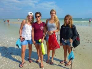 Laura, miyuki, ahsley ashlyn sanibel shellers