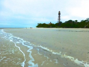 lighthouse low tide sanibel