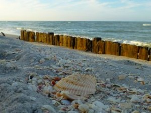 Sanibel Blind Pass sea wall