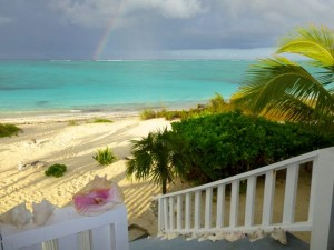 Front Porch rainbow caicos