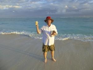 Turks caicos seashells clark