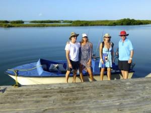 boat trip cardinal caicos