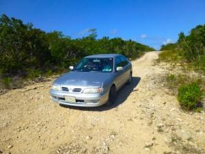 caicos island roads