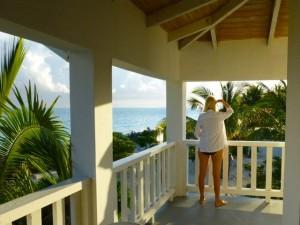 caicos veranda view