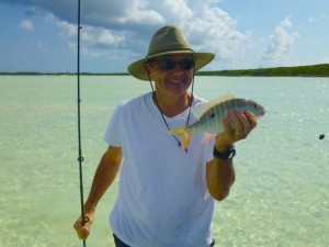 fishing caicos yellowtail snapper
