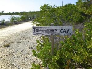 street sign caicos island