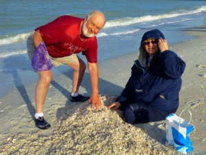 Duane Jan shell pile sanibel