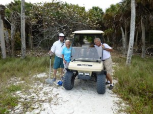 golf cart cayo costa