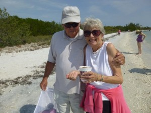 cayo costa finding seashells