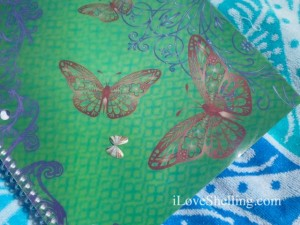 coquina butterfly notebook