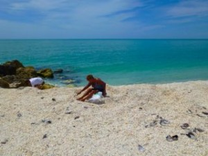 blind pass shell mound captiva florida