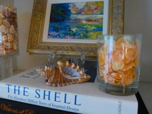 decorate with jingle seashells