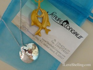 Sealife By Congress jingle necklace