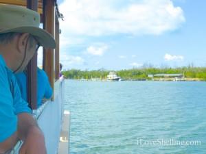 arrive boat Cayo Costa