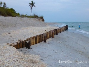 sanibel sea wall wooden blind pass