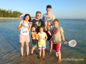 tennessee family visits sanibel shells