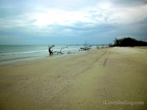 Fort myers Beach Florida before storm