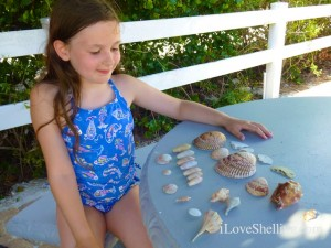 clara with seashells captiva