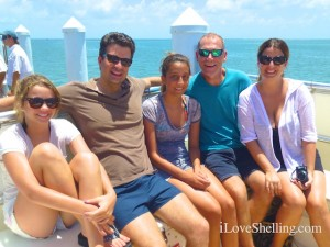 emily chris izzy robert christa cruise florida cayo costa