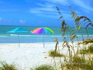 sanibel beach umbrellas