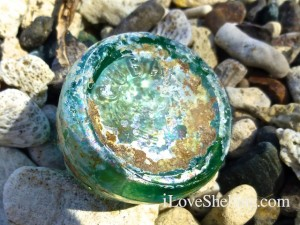 sea glass coca cola bottle cuba