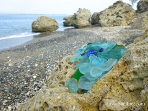 collect sea glass guantanamo bay cuba
