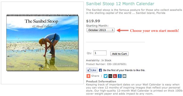 Sanibel Stoop Calendar Ad