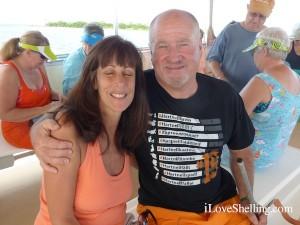 eddie mcguire beth i Love Shelling captiva cruise