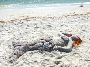 sand and shells sanibel mermaid