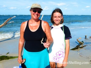 sheri samantha worm shell cayo costa florida