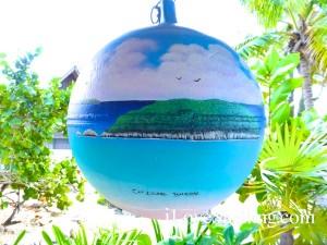 cat island bahamas bouy painting