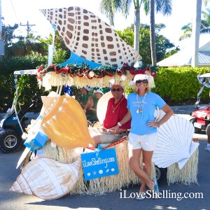 Golf cart christmas parade captiva florida