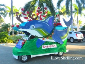 captiva florida golf cart parade Rudolphin
