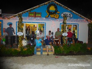 drum circle at YOLO watersports captiva